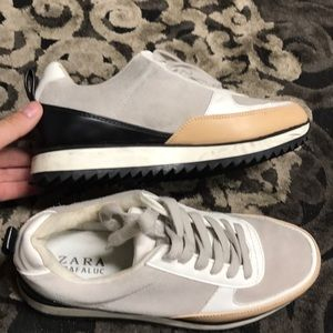 Zara platform fashion casual sneaker
